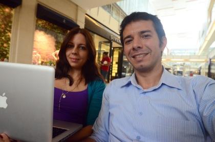 Carolina y José Antonio emprendiendo en Panamá