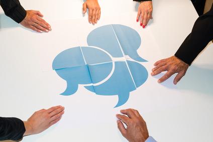 Communication - speech bubbles